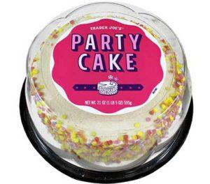 Trader Joe's Party Cake