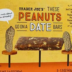 Trader Joe's These Peanuts Go On A Date Bars