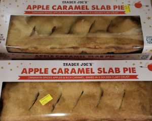 Trader Joe's Apple Caramel Slab Pie