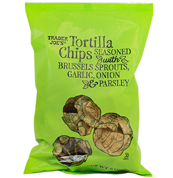 Trader Joe's Tortilla Chips Seasoned with Brussels Sprouts Reviews