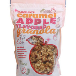 Trader Joe's Caramel Apple Flavored Granola