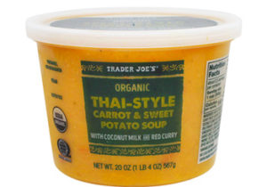 Trader Joe's Organic Thai-Style Carrot & Sweet Potato Soup