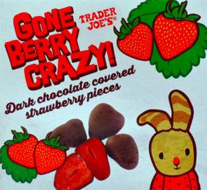 Trader Joe's Gone Berry Crazy Dark Chocolate Covered Strawberries