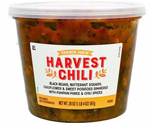 Trader Joe's Harvest Chili Reviews