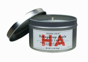 Trader Joe's Honeycrisp Apple Scented Candle