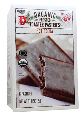 Trader Joe's Organic Hot Cocoa Frosted Toaster Pastries