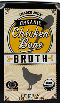 Trader Joe's Organic Chicken Bone Broth