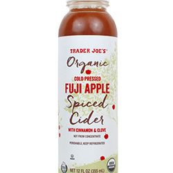 Trader Joe's Organic Fuji Apple Spiced Cider