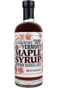 Trader Joe's Organic Bourbon Barrel Aged Vermont Maple Syrup