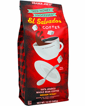 Trader Joe's Red Honey Processed El Salvador Coffee