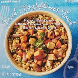 Trader Joe's Riced Cauliflower Bowl