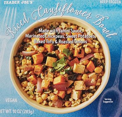 Trader Joe's Riced Cauliflower Bowl Reviews