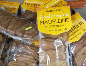 Trader Joe's Spiced Pumpkin Madeleine Cookies