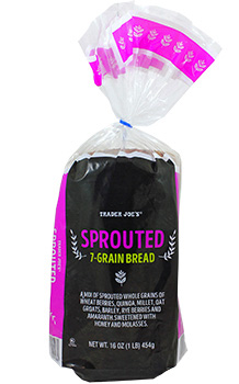 Trader Joe's Sprouted 7-Grain Bread