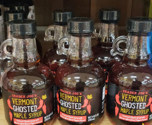 Trader Joe's Vermont Ghosted Maple Syrup