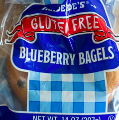 Trader Joe's Gluten-Free Blueberry Bagels