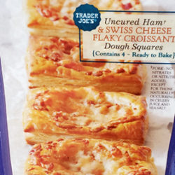 Trader Joe's Uncured Ham & Swiss Cheese Flaky Croissant Dough Squares Reviews