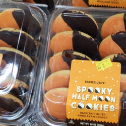Trader Joe's Spooky Half Moon Cookies