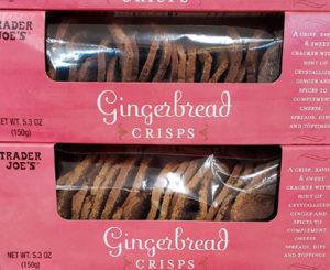 Trader Joe's Gingerbread Crisps