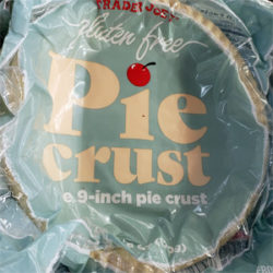 Trader Joe's Gluten Free Pie Crust