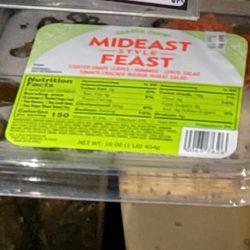Trader Joe's Mideast Feast