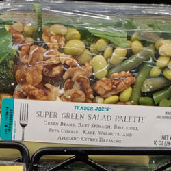 Trader Joe's Super Green Salad Palette