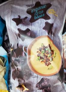 Trader Joe's Organic Taza Blues Tortilla Chips