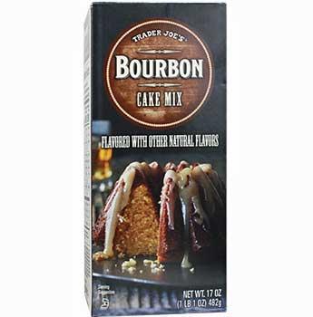 Trader Joe's Bourbon Cake Mix