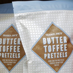 Trader Joe's Butter Toffee Pretzels