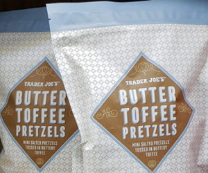 Trader Joe's Butter Toffee Pretzels