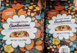 Trader Joe's Chocolate Chunk Cantuccini