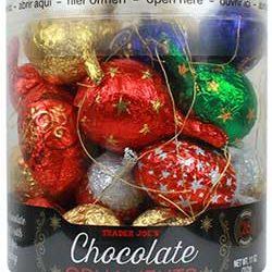 Trader Joe's Chocolate Ornaments