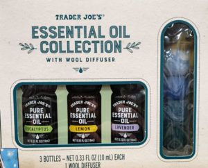 Trader Joe's Essential Oil Collection
