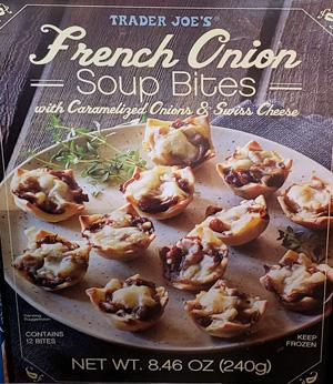 Trader Joe's French Onion Soup Bites
