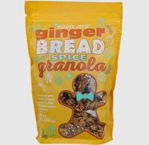 Trader Joe's Gingerbread Spice Granola