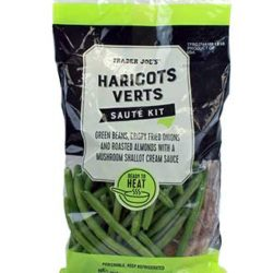 Trader Joe's Haricot Verts Saute Kit