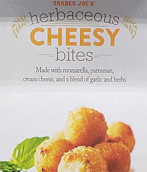 Trader Joe's Herbaceous Cheesy Bites