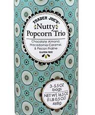 Trader Joe's Nutty Popcorn Trio