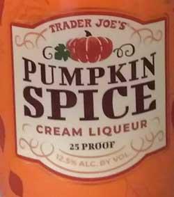 Trader Joe's Pumpkin Spice Cream Liqueur Reviews