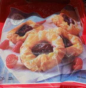 Trader Joe's Frozen Mini Raspberry Pastries
