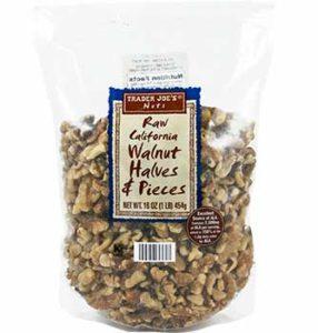 Trader Joe's Raw California Walnut Halves & Pieces