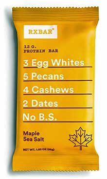 RXBar Maple Sea Salt Protein Bar Reviews