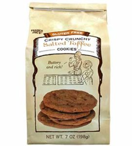 Trader Joe's Gluten Free Salted Toffee Cookies