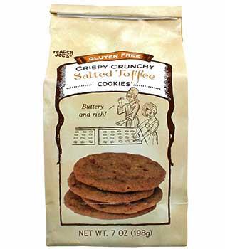 Trader Joe's Gluten Free Salted Toffee Cookies Reviews