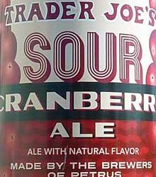 Trader Joe's Sour Cranberry Ale