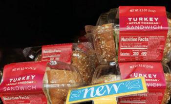 Trader Joe's Turkey Apple Cheddar Sandwich