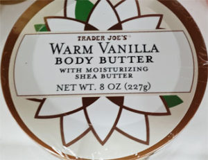 Trader Joe's Warm Vanilla Body Butter