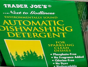Trader Joe's Automatic Dishwashing Detergent