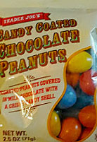Trader Joe's Candy Coated Chocolate Peanuts