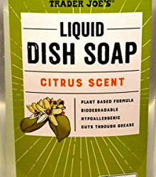 Trader Joe's Citrus Liquid Dish Soap